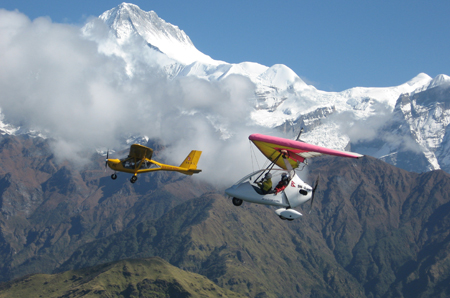 Ultra Flight in Nepal