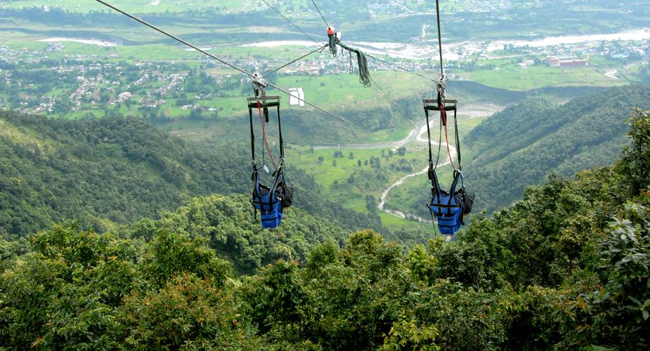 Zip Flying Pokhara Nepal, nepal zip flying