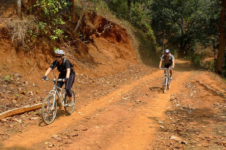 Mountain Biking around Pokhara valley